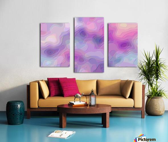 stylish decorating interior bedroom hall Living room 1 Canvas print
