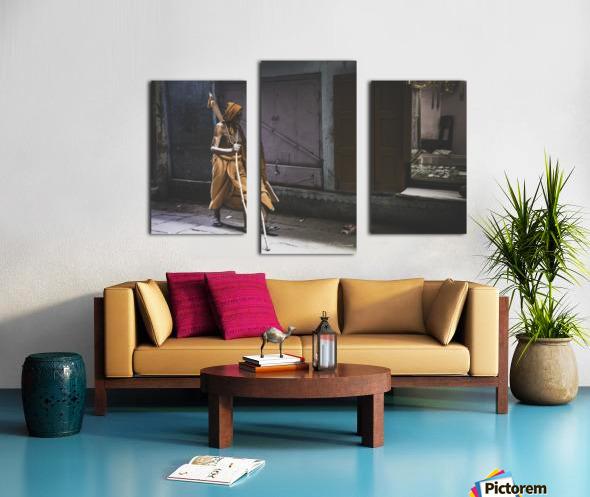 Varanasi Window - Walker Canvas print