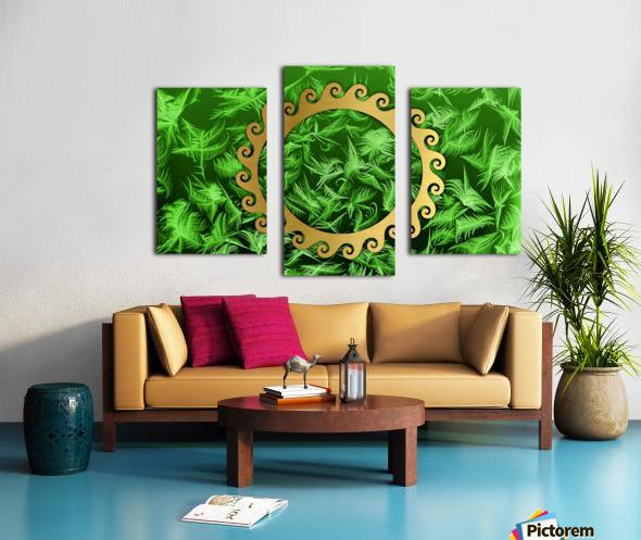 Elegant home decoration room design Canvas print