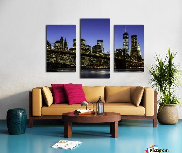 NY City Lights  Canvas print