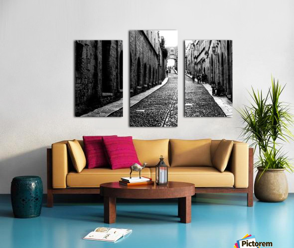 Street of the Nights Canvas print