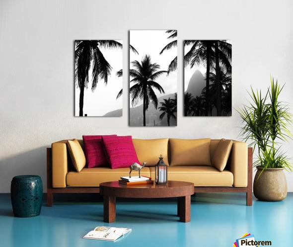 Ipanema B&W Canvas print