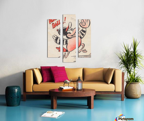 baltimore orioles posters wall art play ball art cartoon baseball print metal canvas acrylic artwork Impression sur toile