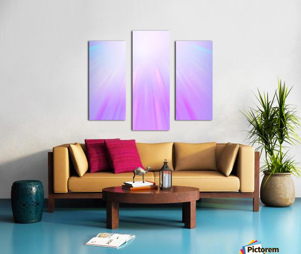 Purple Angel Canvas print