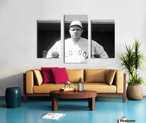 1919 Babe Ruth  Canvas print