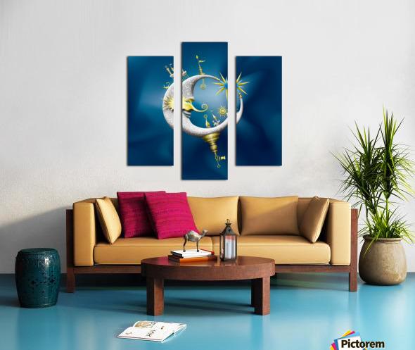 Marcelluna Metalli Canvas print