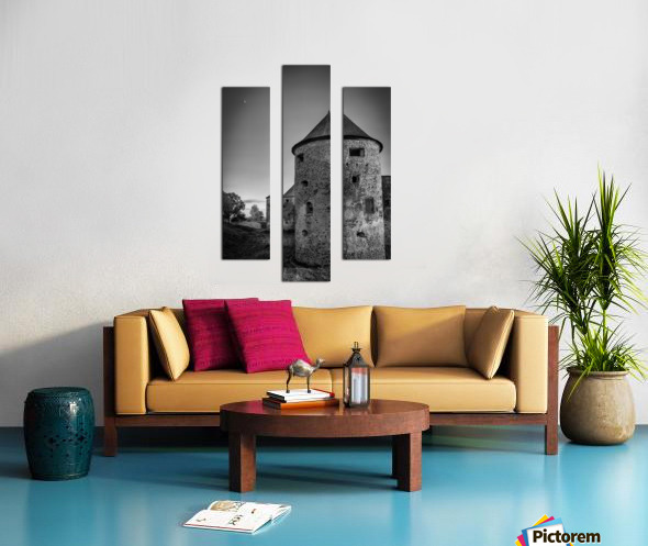 Old castle tower Canvas print