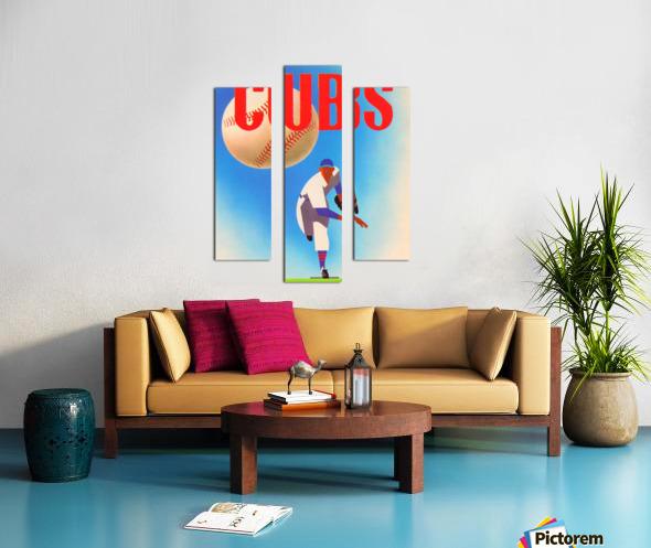 Cubs Art Canvas print