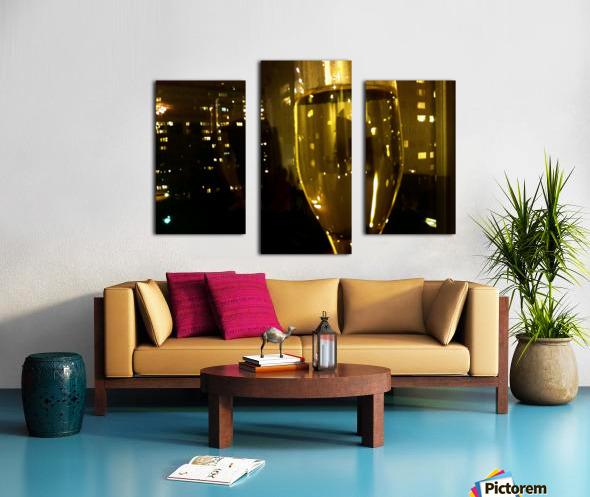 Champagne 4 Canvas print