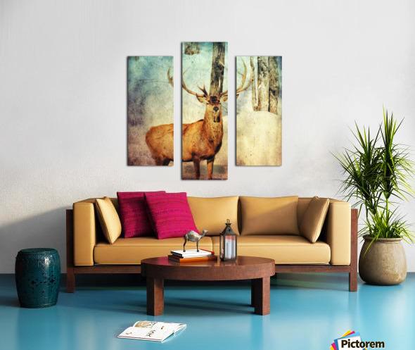 Dans les bois Canvas print