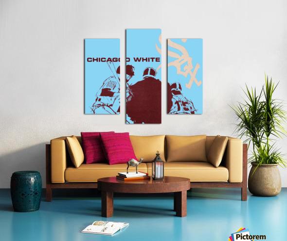 Chicago White Sox Baseball Poster Fine Art Canvas print