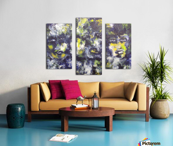 Disbonded Canvas print