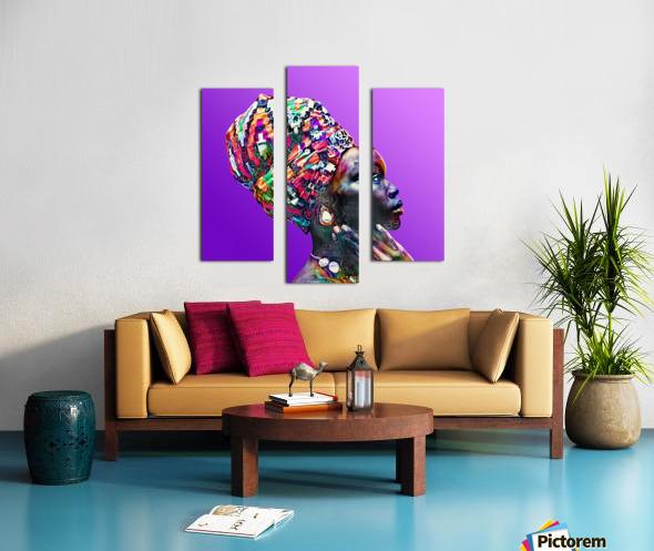 ColorThroughCulture VI Canvas print