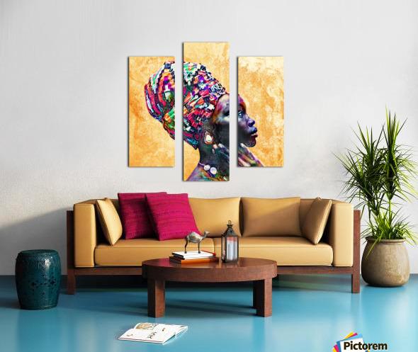 Color Through Culture I Canvas print