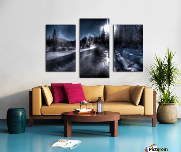 Policemans Creek _ 37 Degrees Celcius Canvas print