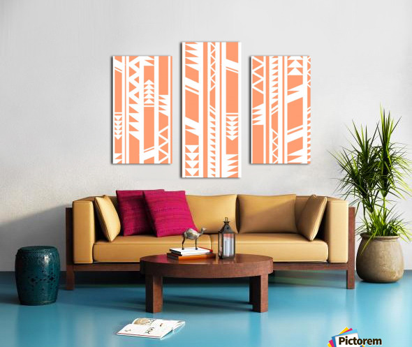 tribal pattern Canvas print