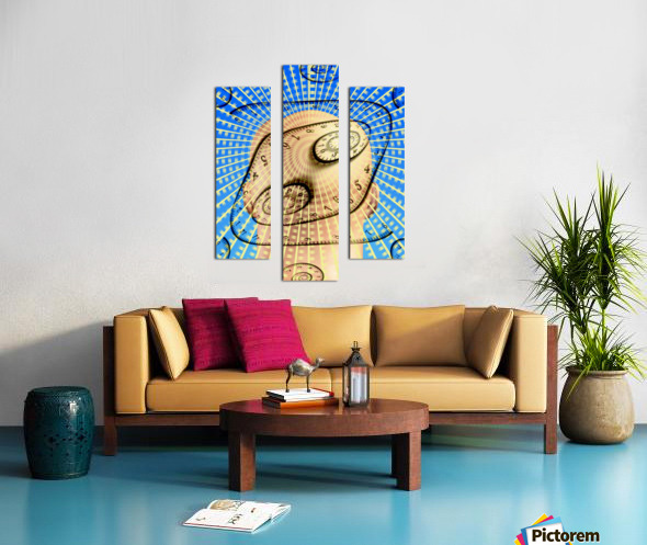 Time Bent Canvas print