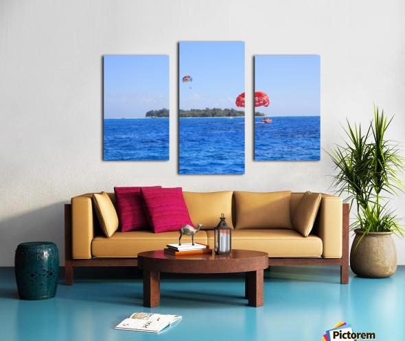 Parasailing Canvas print