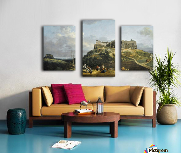 Festung Konigstein Canvas print