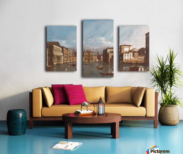 Arno in Florence Canvas print