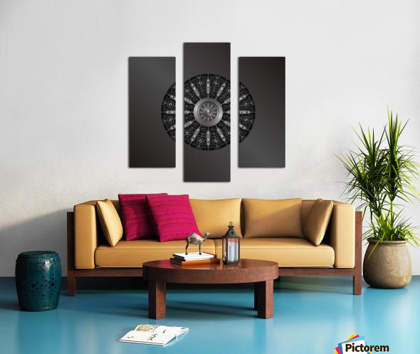 Altered Carbon Collider Canvas print