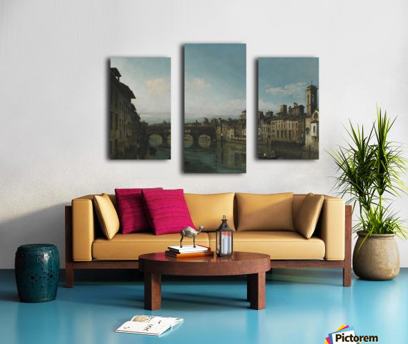 City of Florence Canvas print