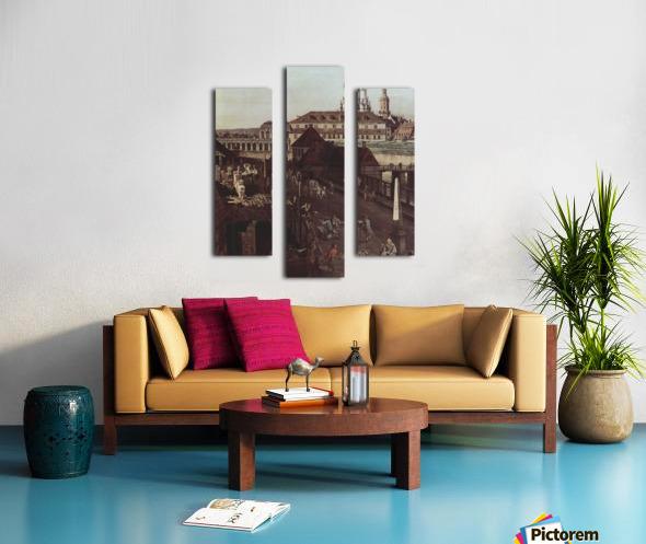 Errichtung der Saulen Canvas print