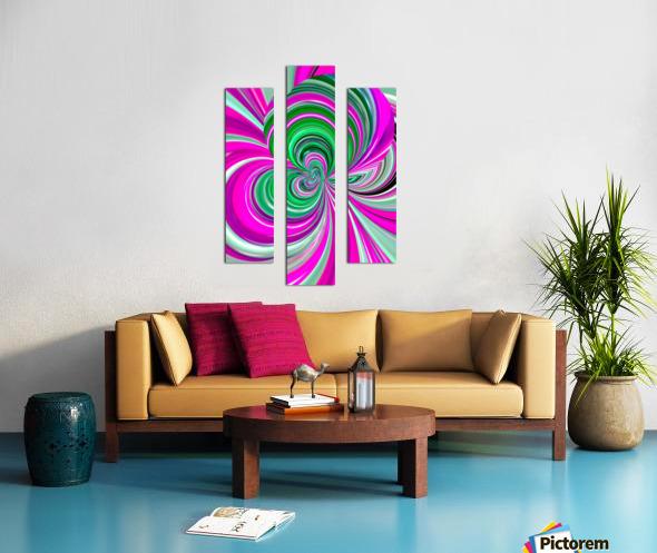 DISTORSION 5B Canvas print