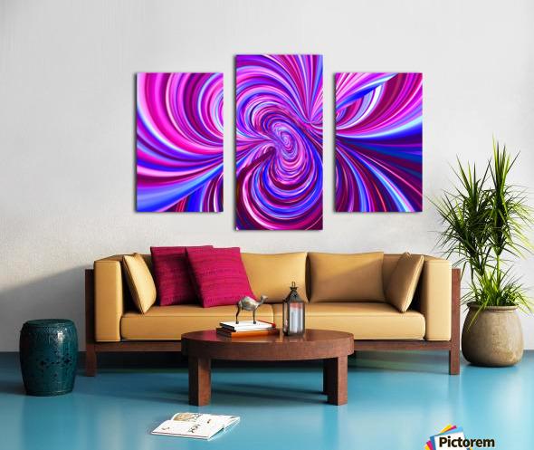 PERSPECTIVES 5D Canvas print