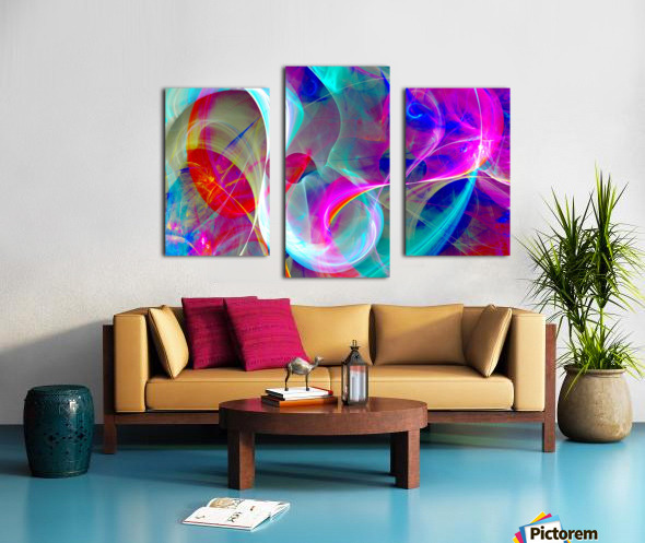 SWIRLS 1B Canvas print