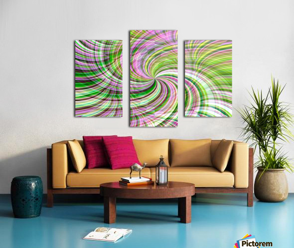 WHIRLWIND 1 Canvas print