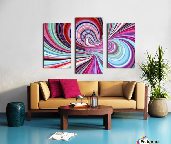 WHIRLWIND 2C Canvas print