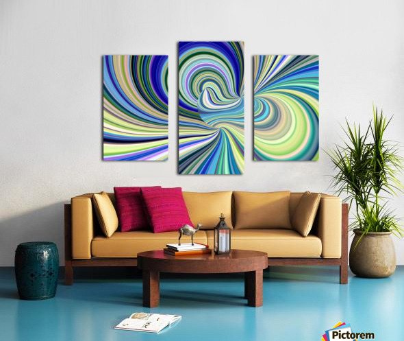 WHIRLWIND 2D Canvas print
