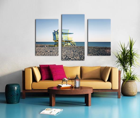Miami Beach 075 Canvas print