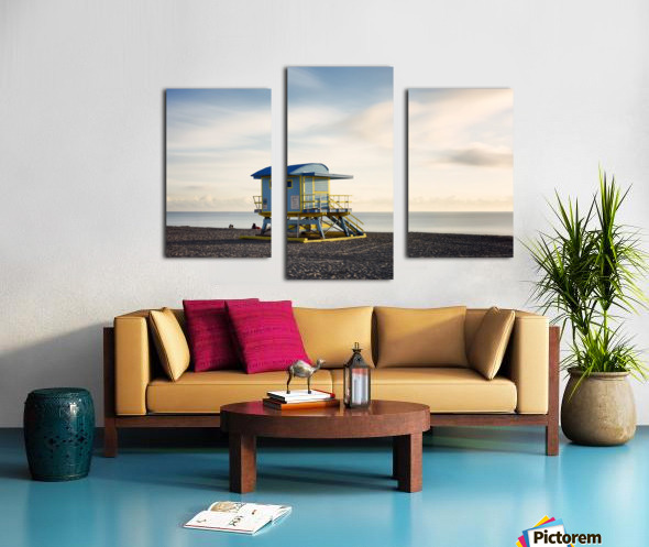 Miami Beach 030 Canvas print