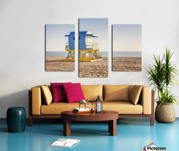Miami Beach 117 Canvas print
