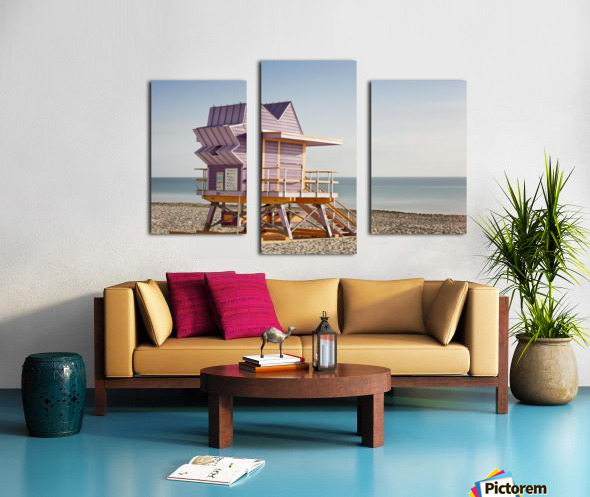 Miami Beach 056 Canvas print
