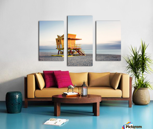 Miami Beach 0280 Canvas print