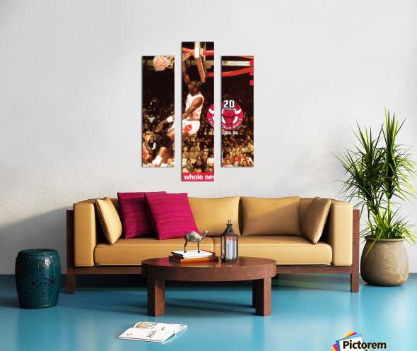1985 Michael Jordan Dunk Canvas print
