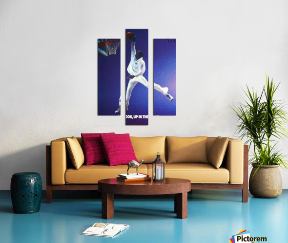 1987 Michael Jordan Nike Ad Canvas print