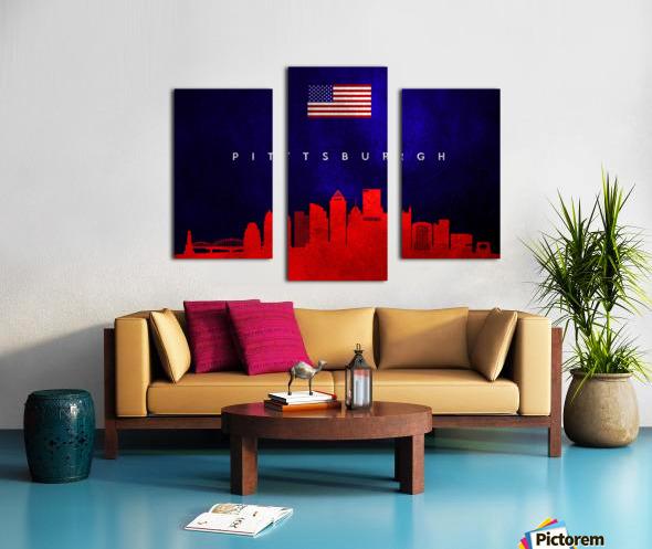 Pittsburgh Pennsylvania Canvas print