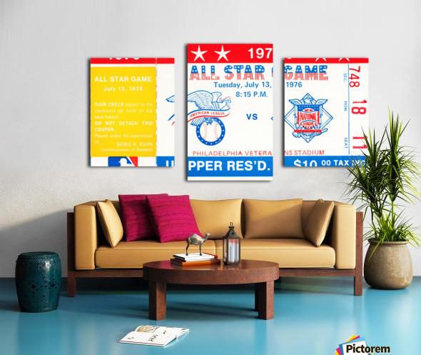 1976 All Star Game Canvas print