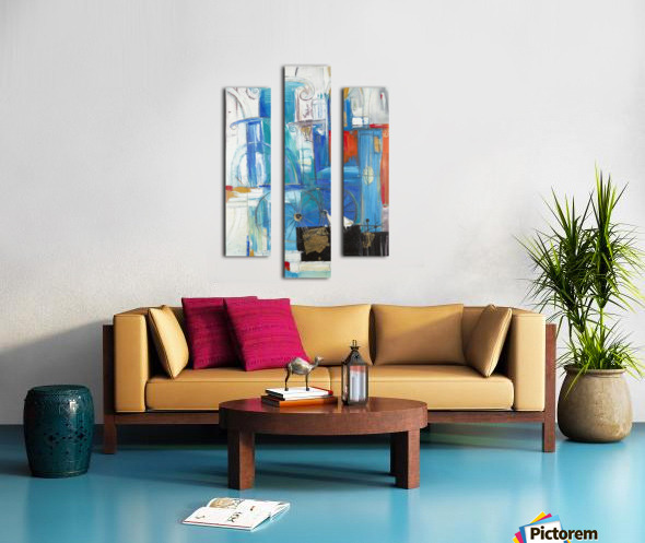 From the series of: Cities of the World Canvas print