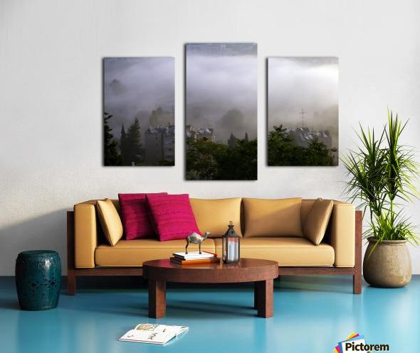 Foggy morning N2 Canvas print