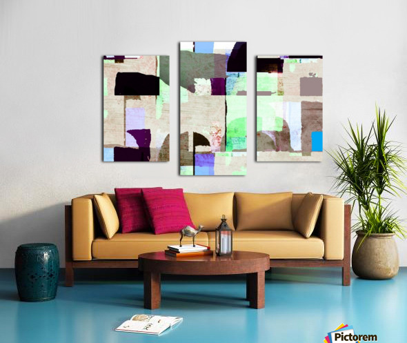 Hall Circle Canvas print