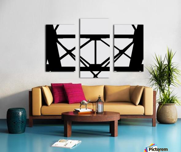 Bridge I Canvas print