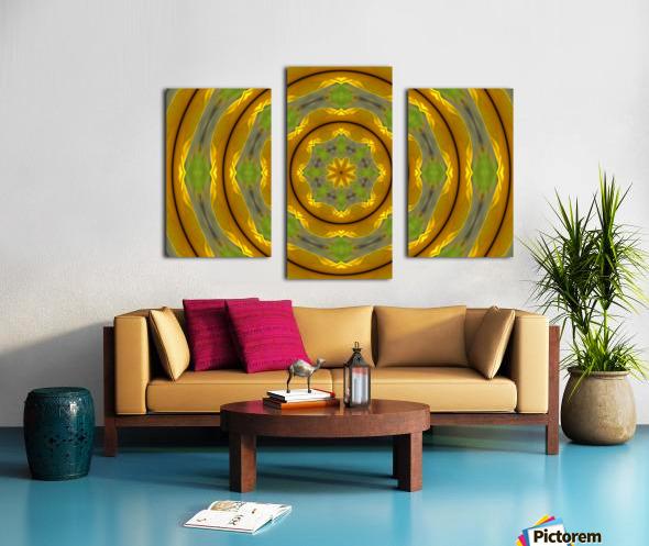 Sunflower G K1 Canvas print