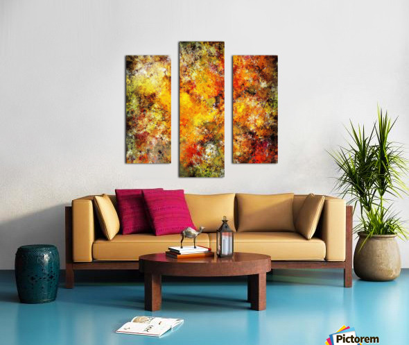 Blistering 2 Canvas print