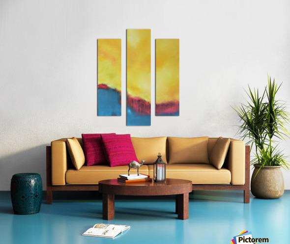 Exalted II Canvas print