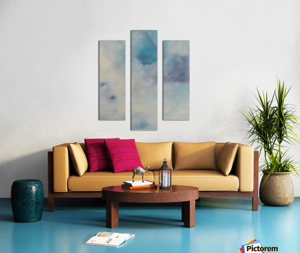Quieting Aura II. Canvas print
